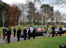 PC David Rathband's Funeral Attracts Hundreds