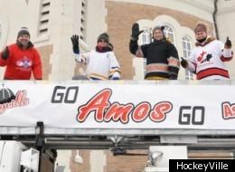 Amos a obtenu son laissez-passer pour la grande finale canadienne de HockeyVille. (HockeyVille)