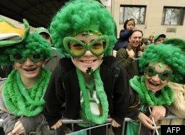 Le défilé de la Saint-Patrick à Montréal en 2011.   (AFP)
