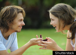 Proposal Day is a day set aside for future brides and bridegrooms to stop hesitating and pop the question. (Shutterstock)