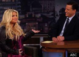 Jessica Simpson talks pregnancy, on 'Jimmy Kimmel Live'
