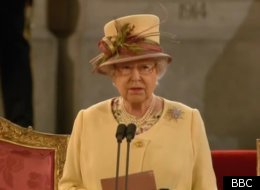 The Queen Was Speaking At Westminster Hall Before Both Houses Of Parliament