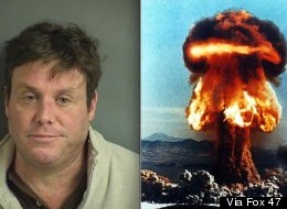 William Bliss told cops that four men made him carry a nuke -- but he later admitted to being drunk.