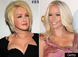 Kendra Wilknson and Cyndi Lauper will star in WE tv reality shows this summer.