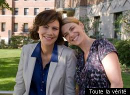 Geneviève Brouillette et Hélène Florent dans Toute la vérité