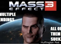 Mass Effect 3 Makers To Re-Write Ending
