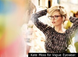 Kate Moss for Vogue Eyewear.
