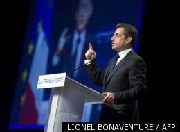 Le président de la République, Nicolas Sarkozy, lors de son meeting de Lyon le 17 mars dernier