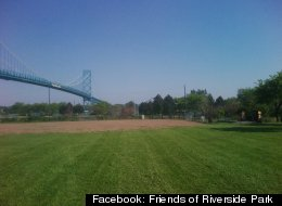 Riverside Park in Detroit. Photo courtesy of Friends of Riverside Park.
