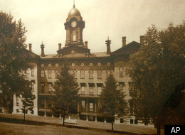 In this undated photograph provided by Illinois State University, Old Main building is shown on Normal, Ill. campus. (AP photo/Illinois State University via The Pantagraph)