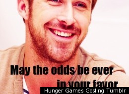 New Hunger Games Gosling Tumblr puts Ryan Gosling into 'The Hunger Games.'