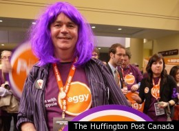 NDP leadership convention draws out the party faithful. Here is a look at the style at the convention.