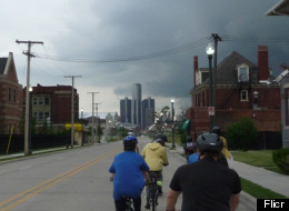 Detroit Bike City wants to encourage the growth of cycling n Detroit.