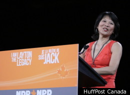 The NDP has honoured late leader Jack Layton at the party's convention in Toronto.