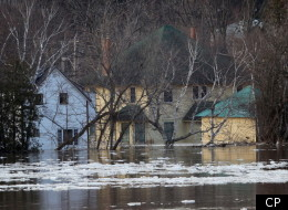 The New Brunswick government has promised to provide aid for those affected by flooding. (CP)