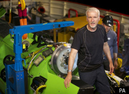 James Cameron has performed the deepest ever solo submarine dive