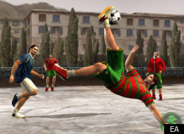 FIFA Street Leads UK Games Chart