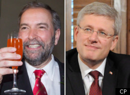 NDP Leader Thomas Mulcair will have to make big inroads in Ontario if he wants to defeat Stephen Harper and become prime minister. (CP)