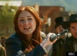 Karen Gillan in the Doctor Who series 7 trailer