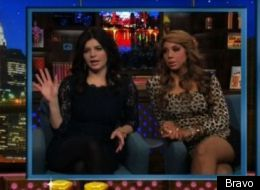 'WWHL': Casey Wilson and Tamar Braxton name celebrities' gold-digging partners