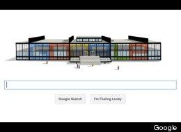 Mies Van Der Rohe's Google doodle