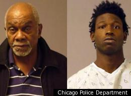 Homer Wright, 80, (left) was charged with a felony for shooting 19-year-old burglar Anthony Robinson (right).