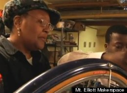 Detroit's Mt. Elliott Makerspace, one of the recipients of a Knight Foundation and CEOs for Cities civic engagement grant.