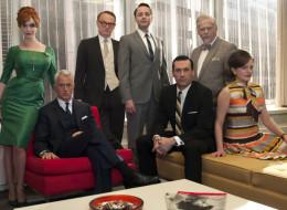 Les acteurs de la cinquième saison de Mad Men.