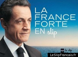 Présidentielles en France: les publicitaires de plus en plus culottés...