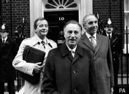 Paul Eddington playing the role of PM Jim Hacker