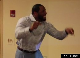 Ray Lewis is one amazing motivational speaker.