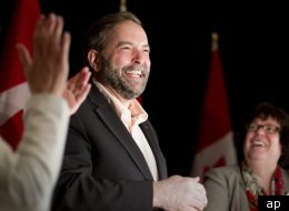 Thomas Mulcair had created confusion about his party's position on March 18 when he said decriminalization would be