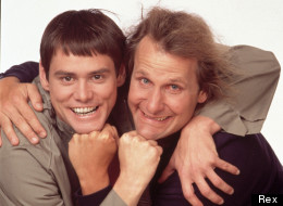 Jim Carrey and Jeff Daniels in Dumb and Dumber