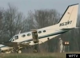 An 80-year-old Wisconsin woman with no flying experience was able to successfully land a plane when the pilot, her husband, lost consciousness at the controls.