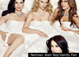 Julianna Margulies, Claire Danes, Sofia Vergara and Michelle Dockery are on the front of next month's Vanity Fair