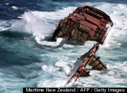 Maritime New Zealand / AFP / Getty Images