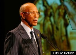 File Photo. Detroit Mayor Dave Bing is suffering from pulmonary embolism, a blood clot in the lungs, and is expected to be released from Henry Ford Hospital in a few days.
