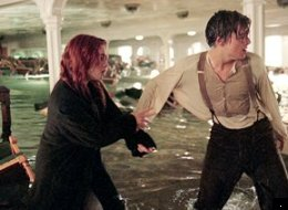 The Titanic really sank - Kate Winslet and Leonardo DiCaprio were not passengers