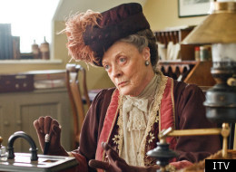 Dame Maggie Smith is as much of a handful as her character Countess Dowager in Downton Abbey, the producer reveals
