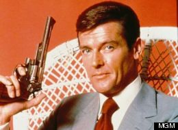 Roger Moore as James Bond was not the tough man he was meant to be