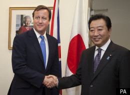 David Cameron has kicked off a trip to South East Asia with a trip to Tokyo