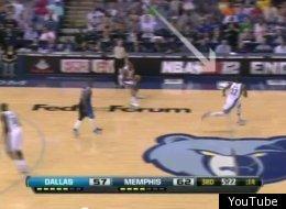 O.J. Mayo ran to the wrong basket.