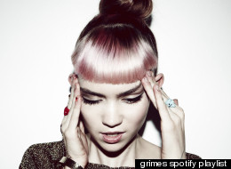 grimes spotify playlist