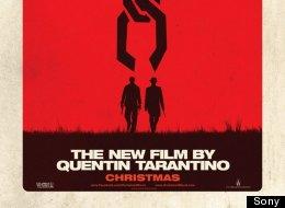 L'affiche de Django Unchained, prochain film de Quentin Tarantino.