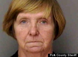 Police say that Barbara Scott allegedly killed her husband and buried him in her herb garden.