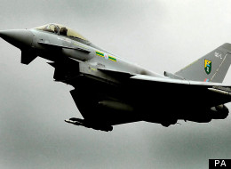 The 'loud bang' heard by members of the public was a sonic boom caused by a typhoon jet