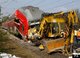 The passenger train derailed, injuring thirteen and killing the conductor