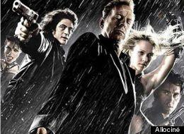 Affiche du film Sin City de Robert Rodriguez