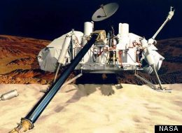 Soil samples taken by the twin Mars Viking landers in 1976 have been re-examined