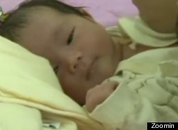 A giant baby was born in China